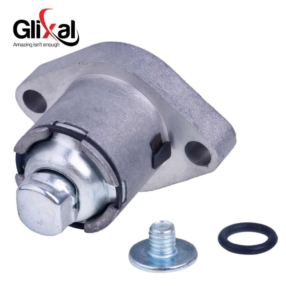 Glixal GY6 152QMI 157QMJ 125cc 150cc スクーターカムシャフトタイミングチェーンテンショナーアジャスター Atv ゴーカートエンジン