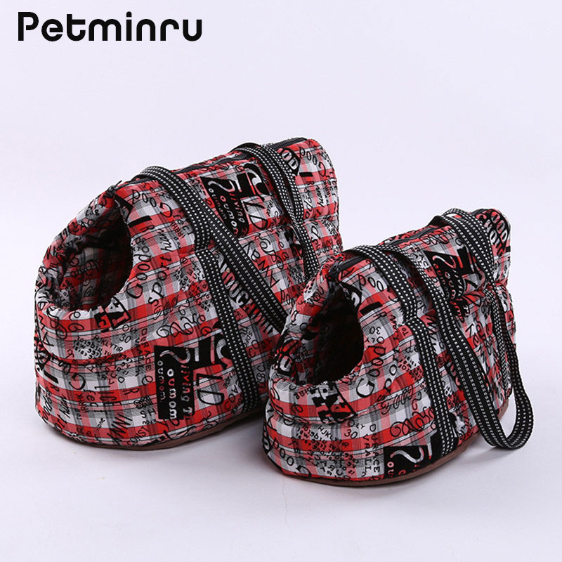 Petminru Pet Carrier Puppy Outdoor Travel Small Cat Dog Backpack Carrying Handbag Chihuahua Shoulder Carrier Bags Pet Products