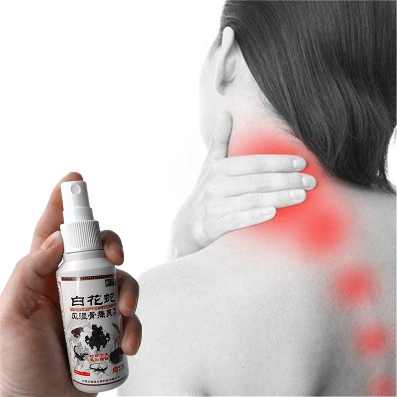 Medicated oil Restore health Ease Pain Essential Oil Psoatic strain Magnetotherapy Knee Legs Neck Ached Migraine Spray 80ml image