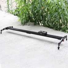 LiFei Professional Portable Commlite 80cm / 32″ Sliding pad Video Camera Track Slider Dolly Stabilizer System for DSLR Camcorder