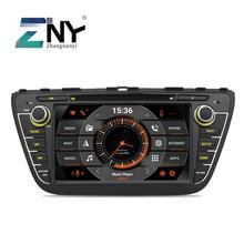 """8 """"Schermo ips Android 9.0 Car DVD Per Suzuki SX4 S Croce 2014 2015 2016 Auto Radio Stereo GPS di navigazione Audio Video di Backup Cam"""