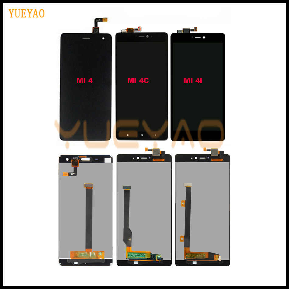 "5.0"" LCD Screen For Xiaomi Mi4 LCD Display MI4C LCD Touch Screen Digitizer For Xiaomi Mi 4 4C 4i Mi4i LCD Screen Touch Panel"