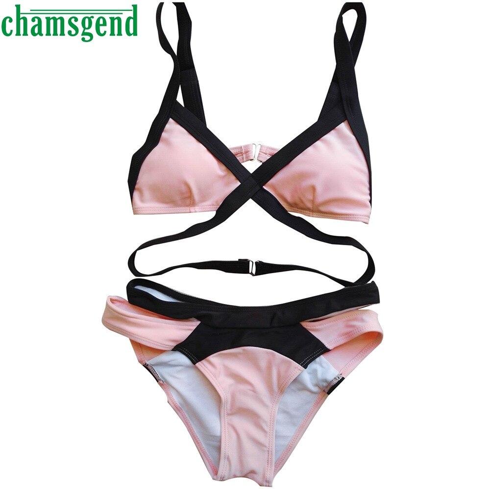 bikini 2017 swimsuit swimwear women padded push up bra set maillot de bain femme bathing suit