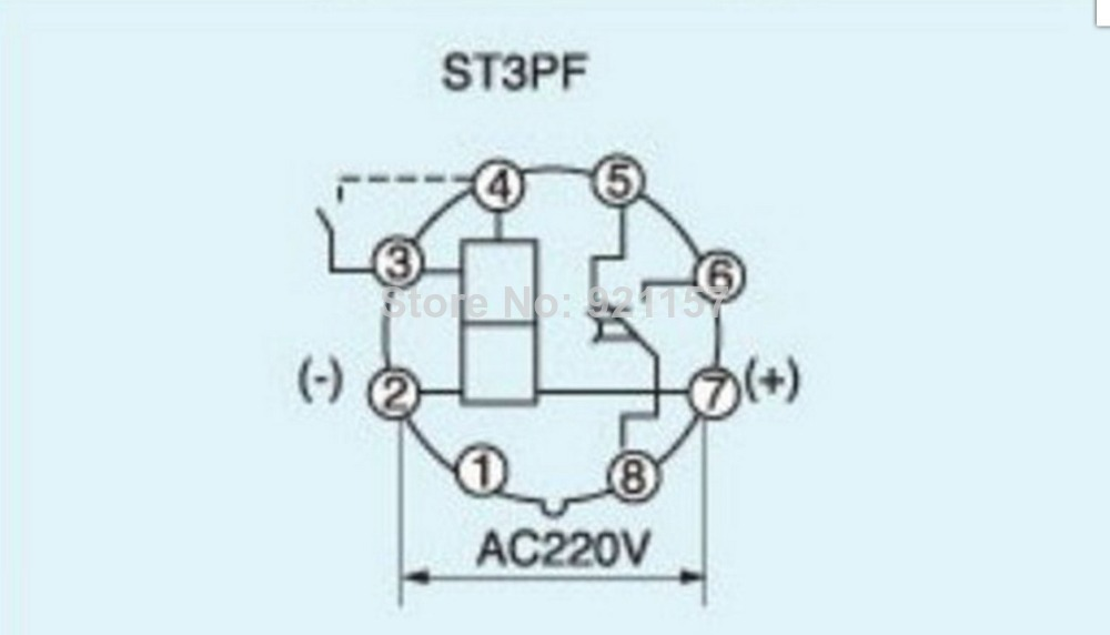 Omron Timer Wiring Omron H3y-2 Timer Wiring • Googlea4.com on