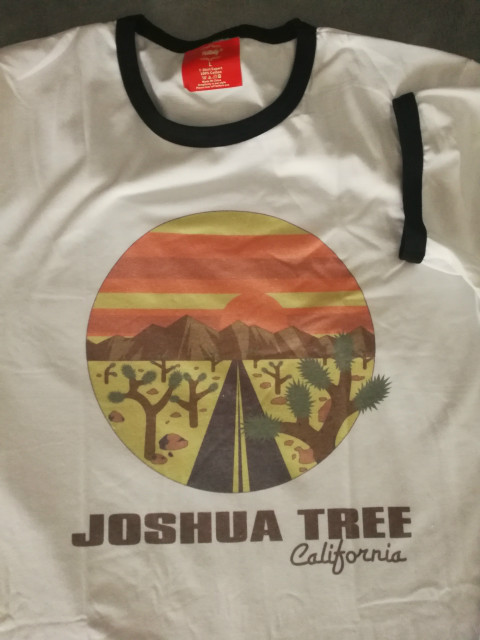 4b2c3fc6a4410 Joshua Tree California Ringer Short Sleeve Women T shirts Summer Plus Size  70s 80s Vintage Inspired Graphic Tee Top-in T-Shirts from Women s Clothing  on ...