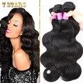 Brazilian Body Wave 7A Unprocessed Brazilian Virgin Hair 3pcs/Lot 100% Human Hair Weave Extension Brazilian Hair Weave Bundles