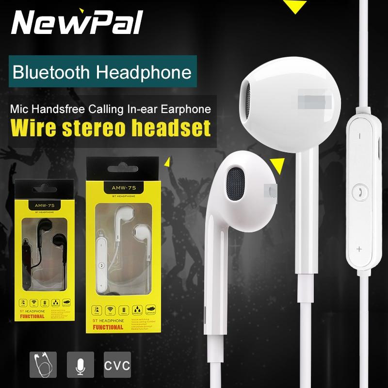 ФОТО Wireless Bluetooth Headphones Sport Headphone with Mic Handsfree Calling In-ear Earphone for iphone 7 7 plus 6S 6plus