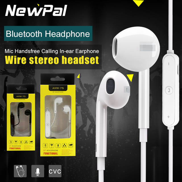 Wireless Bluetooth Headphones Sport Headphone with Mic Handsfree Calling In-ear Earphone for iphone 7 7 plus 6S 6plus