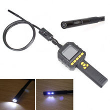 Free Shipping!Color Screen Dual Lens Endoscope Tube Inspection DVR Record Carrying Case Car Diagnostic Tools