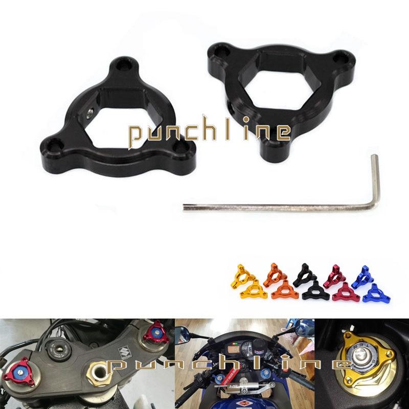 For Kawasaki ZX6R ZX636R ZX6RR ZX14R ZX10R ZX1400 ZZR1400 CNC Accessories 14mm Suspension Fork Preload Adjusters Black adjustable long folding clutch brake levers for kawasaki zx1400 zx14r zx 1400 11 12 13 14 15 zzr1400 zzr 1400 zx 14r 2014 2015