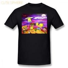 989a68b354f Hey Arnold T Shirt Nick At Night T-Shirt 100 Percent Cotton Beach Tee Shirt