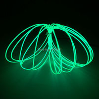 Hot 1.3mm 10Meters 10colors available Flexible EL Wire LED Neon Holiday Lighting Glowing Tube+DC5V DIY Car Interior Decoration