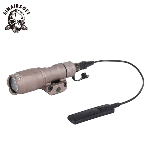luz rifle caca lanterna 400 lumen arma luz led caber 20mm