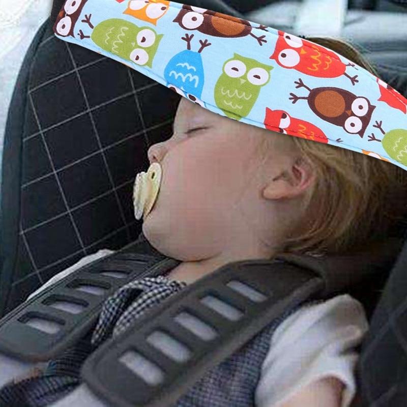 Safety Baby Kids Stroller Car Seat Sleep Nap Aid Head Support Holder Belt Travel