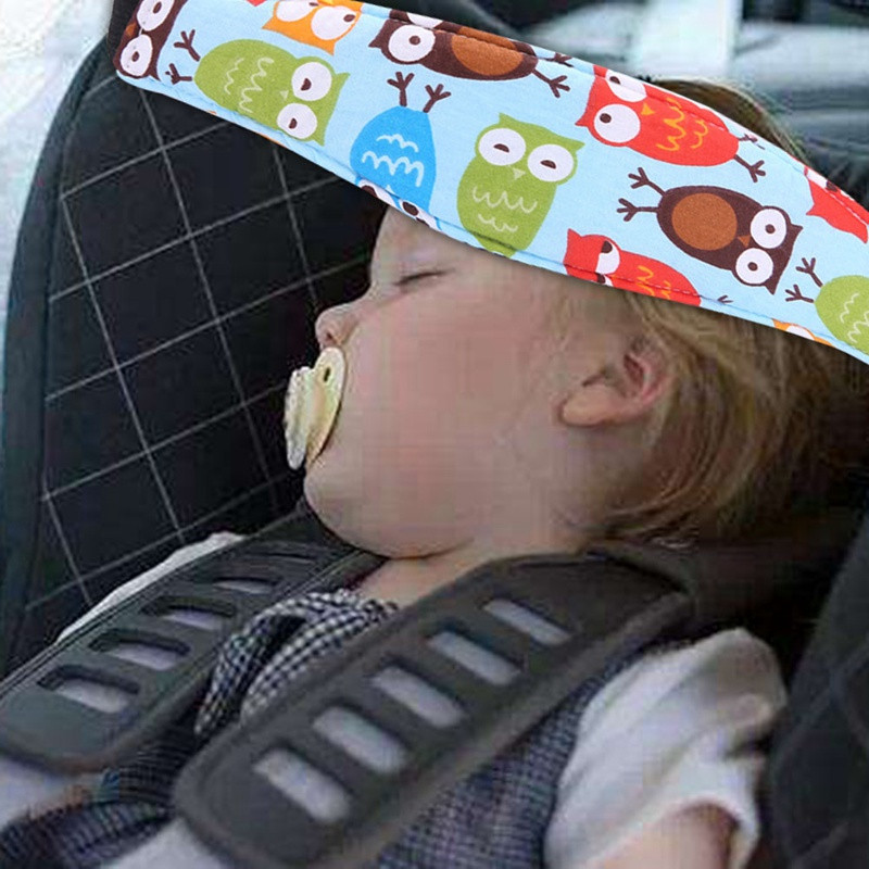 Safety Baby Stroller Car Seat Sleep Positioner Nap Aid Head Support Holder Belt