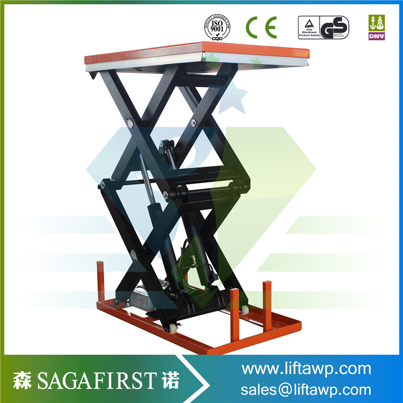 Low Price Popular Electric Double Fork Lift