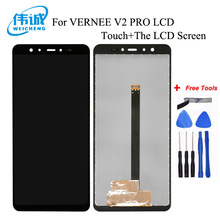 WEICHENG For VERNEE V2 PRO LCD Display + TP Touch Screen Digitizer Assembly Lcds