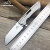 FREETIGER FT601 Mechanical Warrior Folding Pocket Knife D2 Blade CNC Steel Ball Bearing Hunting Camping Small EDC Pocket Knife 1
