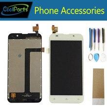 Дешевые 1 шт./лот Высокое качество для ZOPO ZP980 ZP980 + C2 C3 ЖК-дисплей Дисплей и Сенсорный экран планшета с Инструменты и Клейкие ленты белый цвет