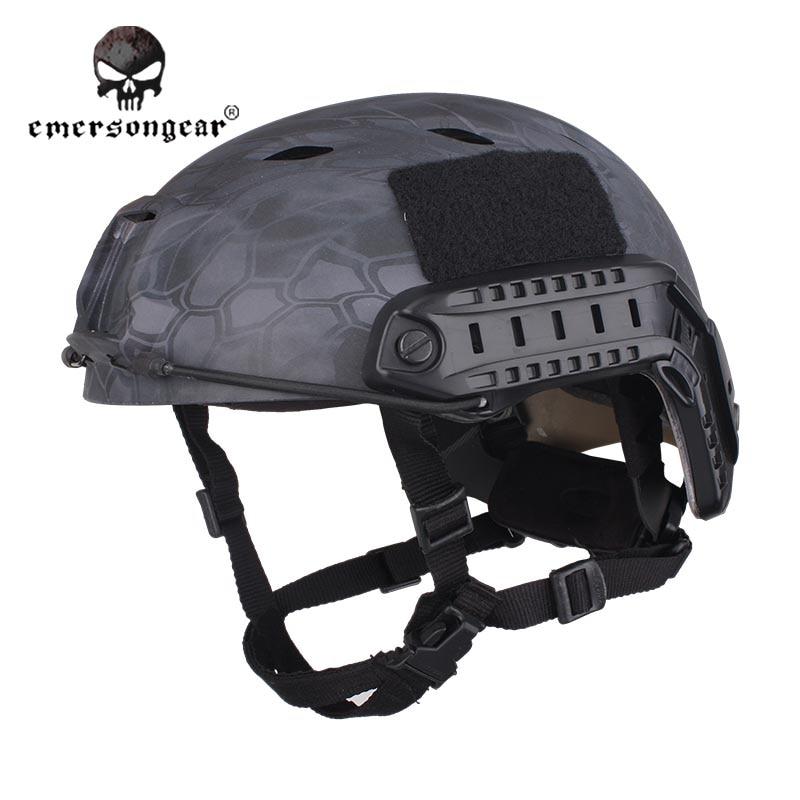 ФОТО Emersongear Fast Base Jump Hunting Wargame Adjustable Helmet Protective Helmet Emerson BJ Type EM5659J Typhon