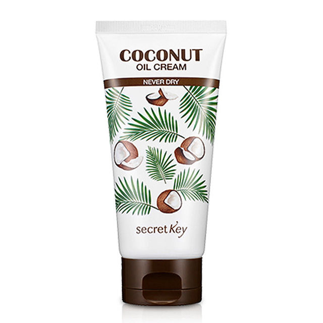 SECRET KEY Coconut Oil Cream 150g Moisturizing whitening Facial Cream Resolution for Skin Dryness Face / Body Cream