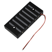 MasterFire 300pcs/lot New Black Plastic 1.5V AA 2A CELL Battery Holder Storage Box standard 12V Batteries Case Cover