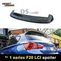 Para BMW F20 de fibra de carbono Spoiler de techo 3D estilo pato alas para serie 1 F20 F21 LCI 2015 de 2016 a 2017 2018 118i 120i