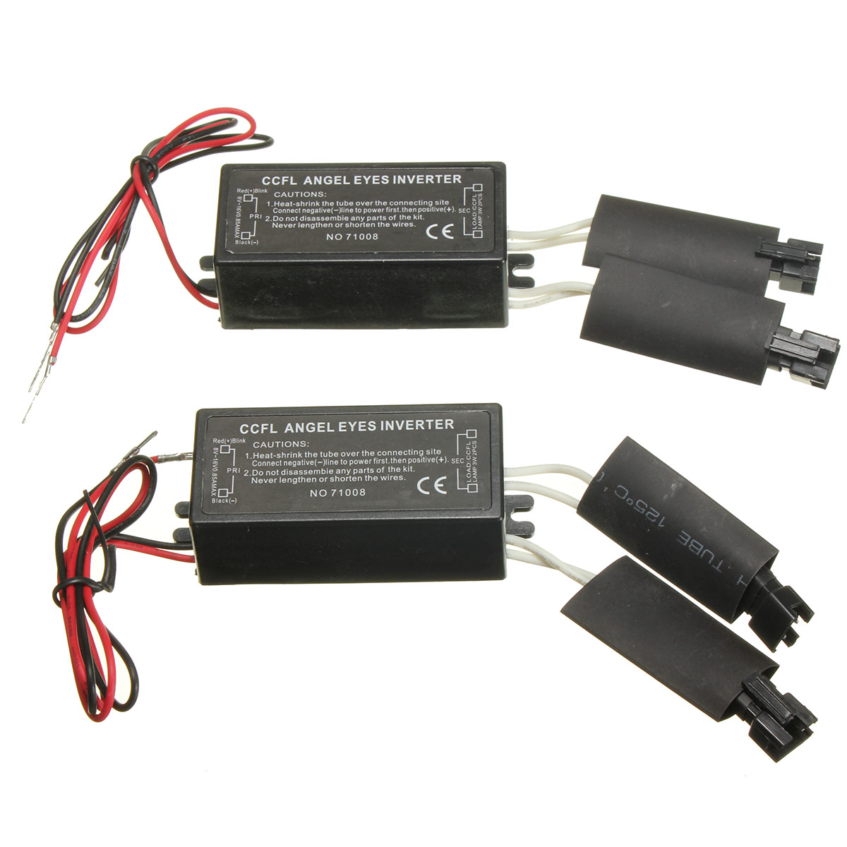 1Pair Universal Car Auto Black 12V Spare CCFL Angel Eyes light  Inverter For BMW E36 E46 E53 E83