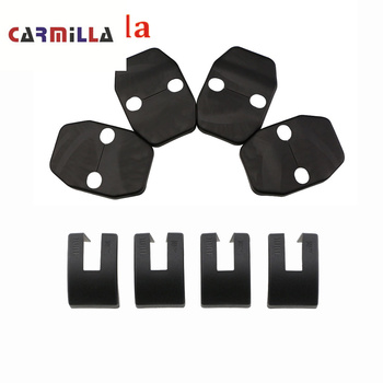 ABS Car Door Lock Cover for BMW X1 X3 X4 X5 X6 E90 E92 F30 F10 Car Styling Door Stopper Protector Covers Accessories Carmilla image