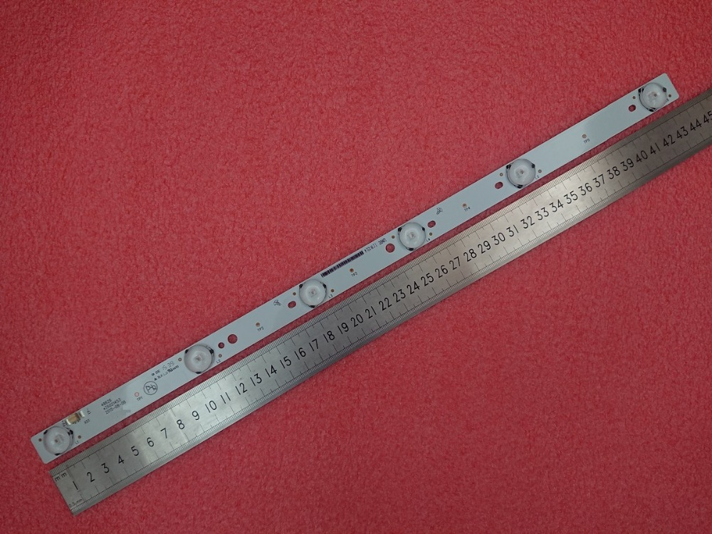 New 50pcs 6LED 6V 440mm LED Backlight Strip for KONKA 48inch TV 48626 35021453