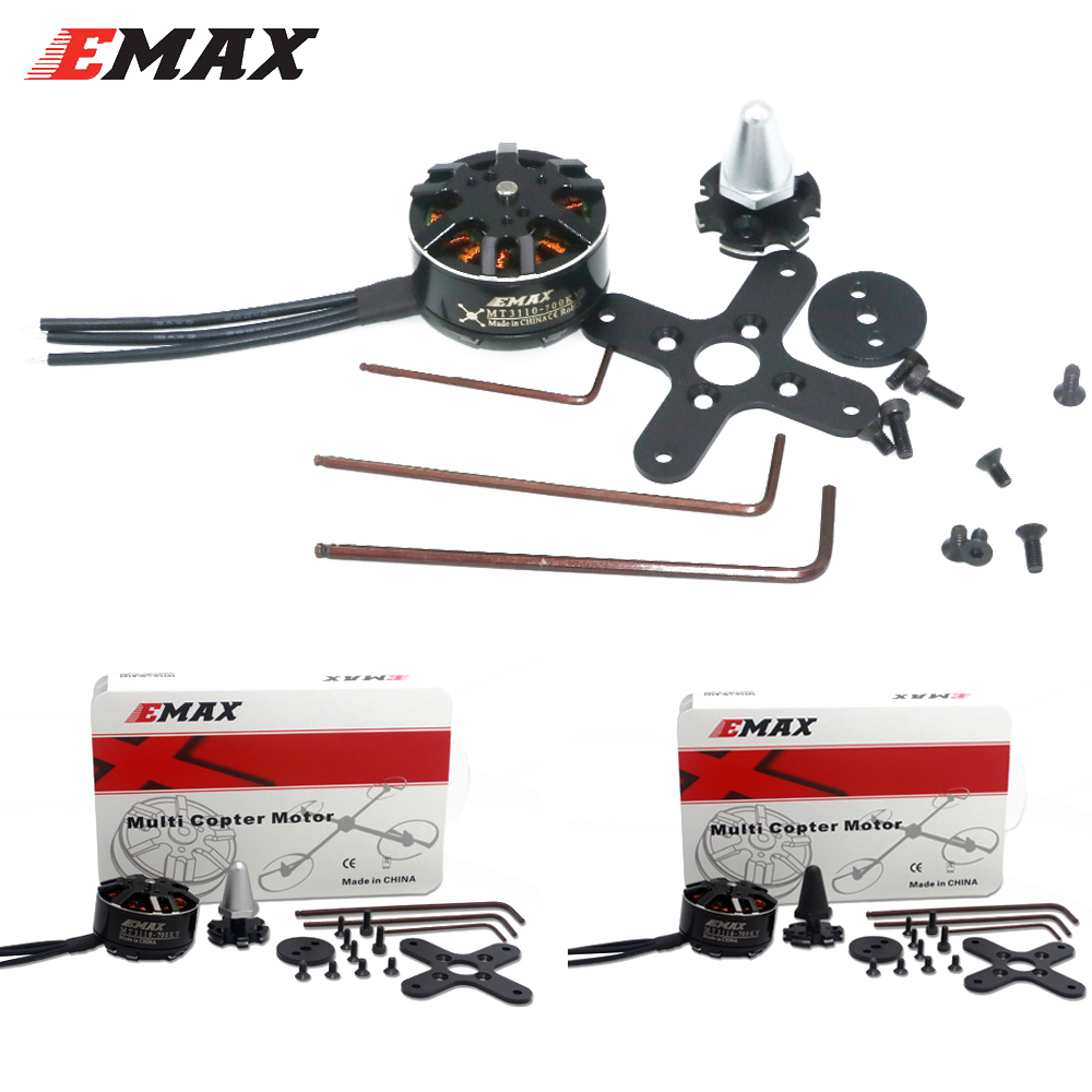 4pcs/lot EMAX MT3110 700KV Brushless Plus Thread Motor CW CCW for RC FPV Multicopter Quadcopter(2CW+2CCW)4pcs/lot EMAX MT3110 700KV Brushless Plus Thread Motor CW CCW for RC FPV Multicopter Quadcopter(2CW+2CCW)