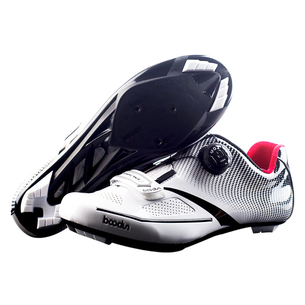 Boodun Breathable Pro Self-Locking Cycling Shoes Road Bike Bicycle Shoes Ultralight Athletic Racing Sneakers Cycling Equipment free shipping breathable athletic cycling shoes road bike bicycle shoes nylon tpu soles for road racing mtb eur35 39 us3 5 7