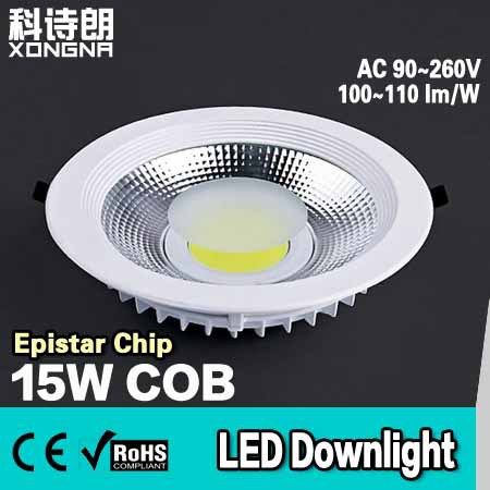 Free shipping 10w 15w 20w 25w led downlight cob super - Downlight led 20w ...
