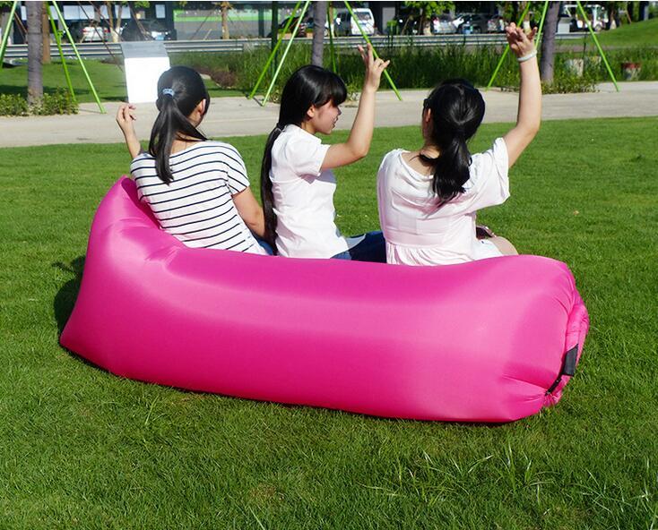 two seat durable bean bag chair air inflatable beanbag sofa