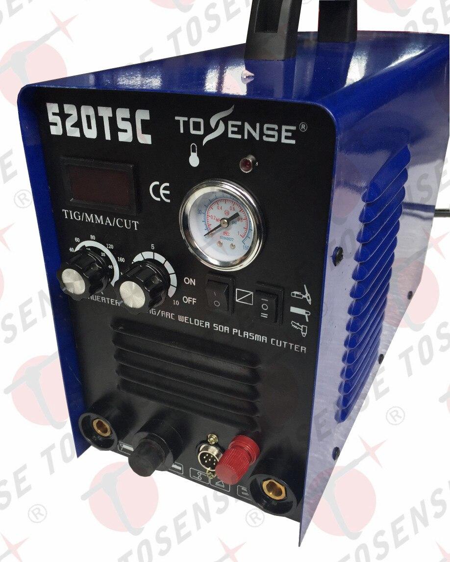 3 в 1 Многофункциональный сварочный аппарат с пилотом Инвертор постоянного тока 110 В 220 В TIG MMA CUT с расходных материалов и факелы WSD60P плазмы