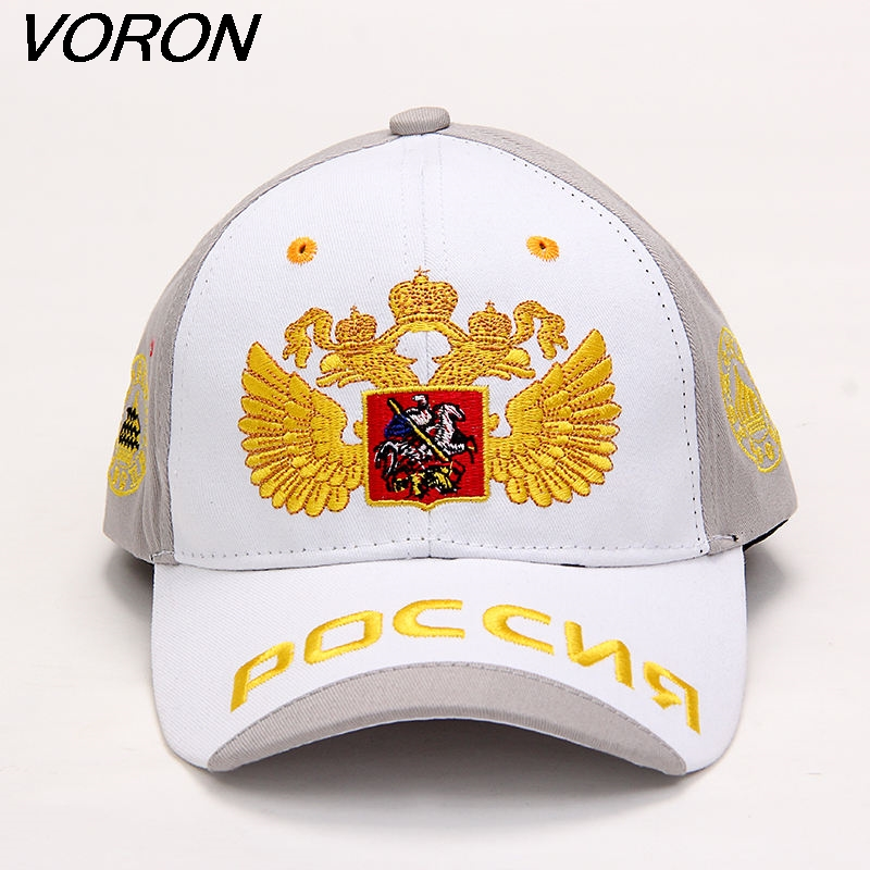 VORON New Unisex 100% Cotton Women Men   Baseball     Caps   Russian Emblem Embroidery Snapback Fashion Hats For Men & Women Patriot   Cap