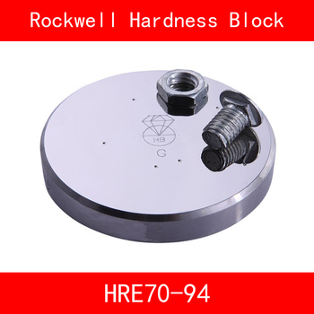 Rockwell Hardness 70-94HRE Metallic Rockwell HRE Hardness Reference Blocks Hardness Test Standard Block Hardness Tester фото