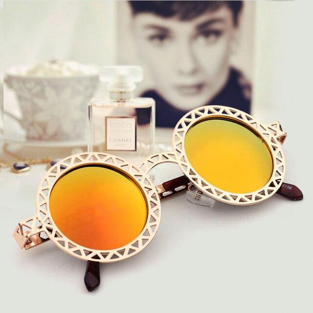 Metal Repair Cutout Sunglasses Vintage Sunglasses Circle Vintage