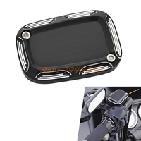 Edge Cut Clutch Master Cylinder Cover For Harley Touring Electra Glide CVO Street Glide Night Rod
