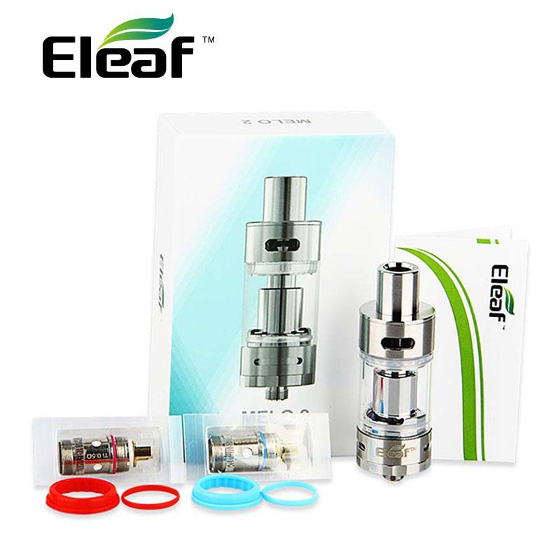 Original Eleaf Melo 2 Atomizer 4.5 ml E-liquid Capacity Airflow Adjustable Subohm Melo II Atomizer E-Cig Atomizer for Istick TC