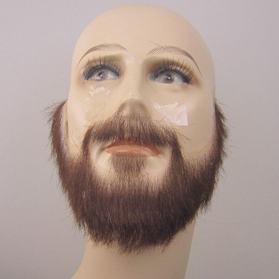 Homem fxvic bigodes falsos, bigode falso invisível