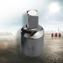 헤드 오일 웅덩이 드레인 플러그 키 도구 리무버 맞는 8mm 스퀘어 르노 시트로엥 푸조 스퀘어 헤드 오일 웅덩이 드레인 플러그 키 도구