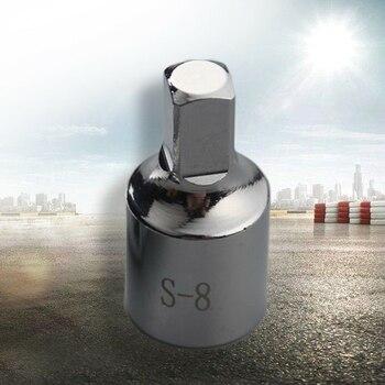 Ferramenta de drenagem de cárter de óleo, 8mm, plugue de drenagem, removedor de chave para renault citroen quadrado removedor de ferramentas