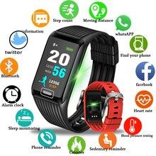 Купить с кэшбэком BANGWEI Smart Sport Bracelet Waterproof Fitness Wristband Blood Pressure Heart Rate Monitor Pedometer Smart Watch pk mi band 3