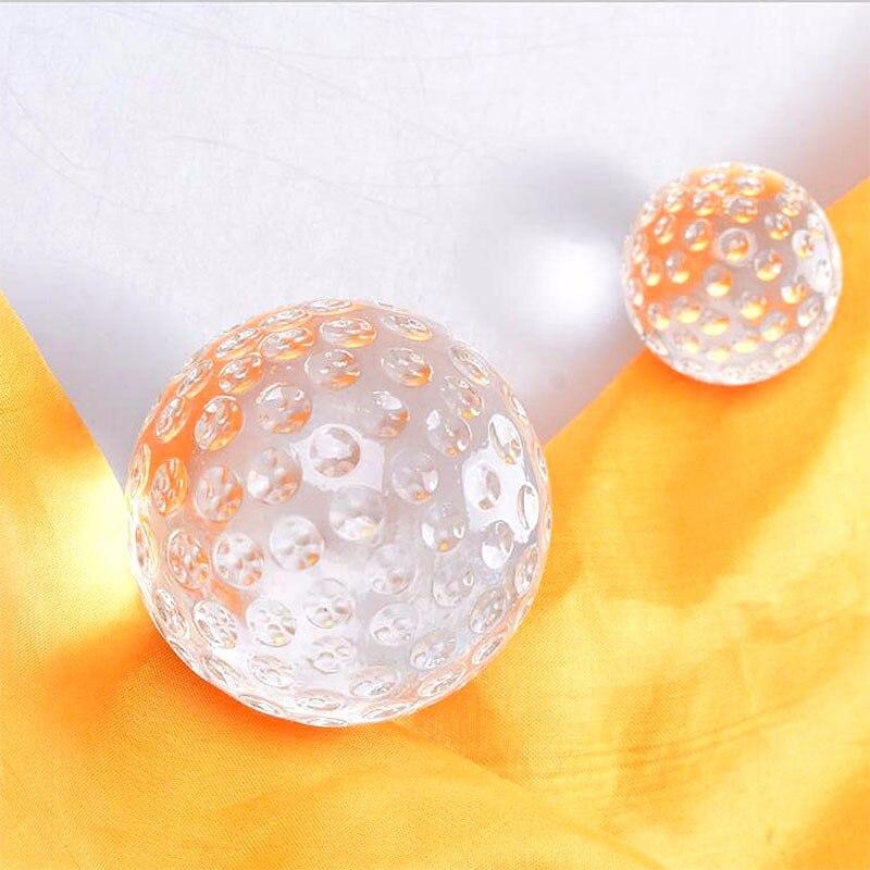 Cm clear crystal glass golf ball asian quartz home