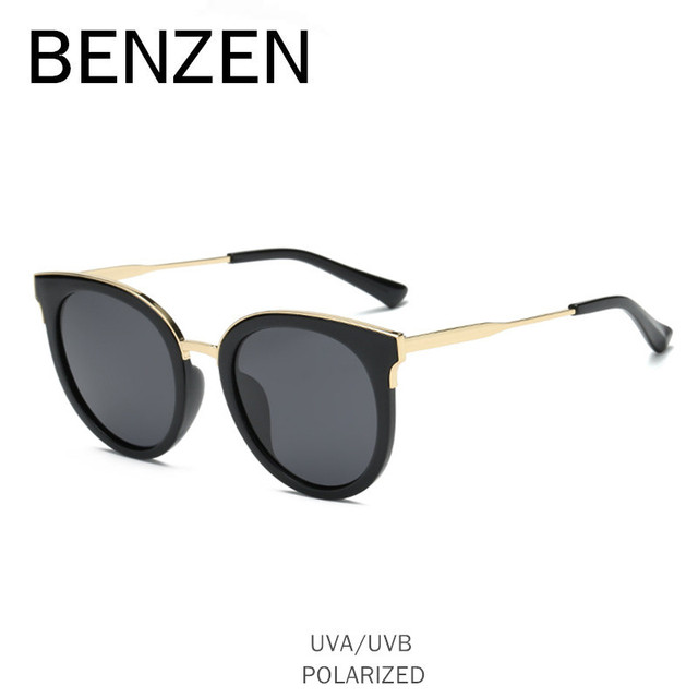 7f2167c2a05 BENZEN Cat Eye Sunglasses Women Vintage Polarized Female Sun Glasses For  Driving Ladies Shades With Case 6552