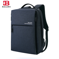 BALANG Brand New Men S Business USB Port Backpack Unisex School Backpack For Teenagers Boys High