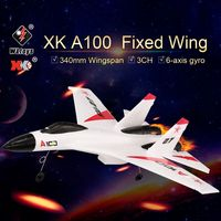 Original XK RC Airplance A100 2.4G 340mm 3CH RC Airplanes Fixed Wing Plane Aircraft Outdoor Toys for Children