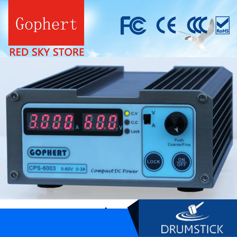 Gophert CPS-6003 DC Switching Power Supply Single Output0-60V 0-3A 180W adjustable