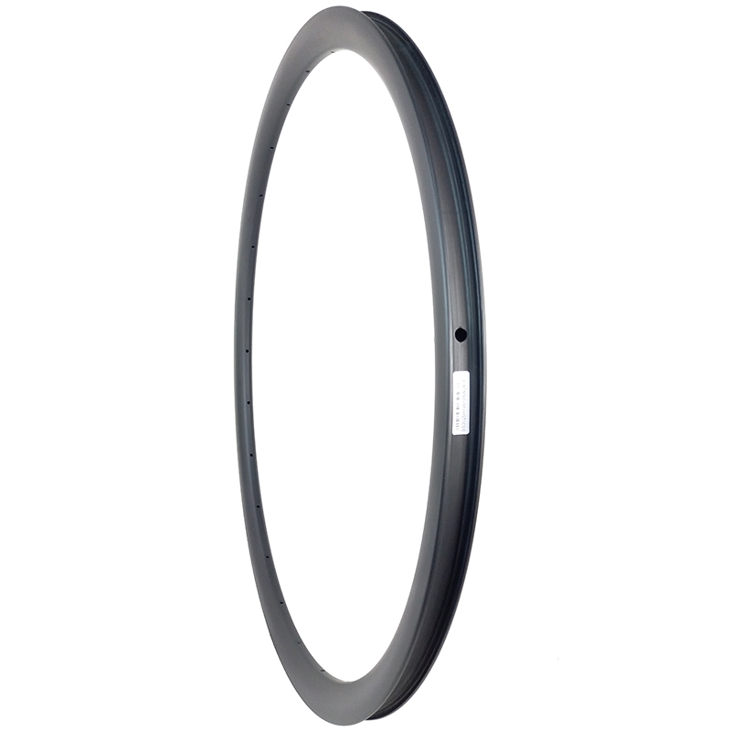 350g 700c 30mm asymmetric road disc tubeless carbon rim TAPELESS 25mm U shape UD 3K 12K
